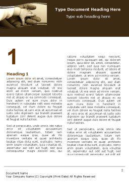 Generation Bond Word Template, First Inner Page, 05535, Religious/Spiritual — PoweredTemplate.com