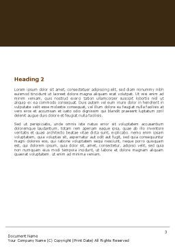 Generation Bond Word Template, Second Inner Page, 05535, Religious/Spiritual — PoweredTemplate.com