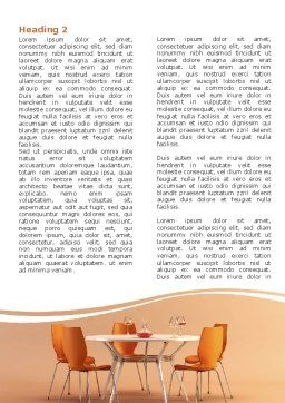Dining Room Word Template First Inner Page