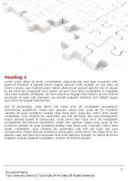 Fitting In Word Template, Second Inner Page, 05554, Consulting — PoweredTemplate.com