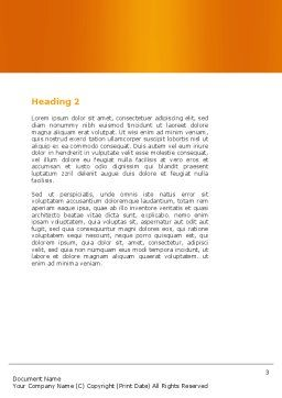 Group Discussion Word Template, Second Inner Page, 05569, Education & Training — PoweredTemplate.com
