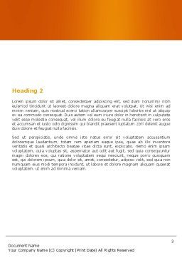 Question Word Template, Second Inner Page, 05578, Consulting — PoweredTemplate.com