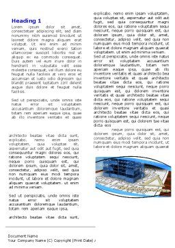 Office Building Planning Word Template, First Inner Page, 05599, Construction — PoweredTemplate.com