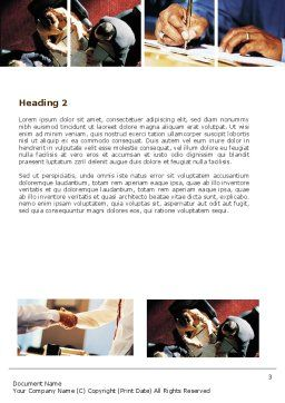 Successful Business Word Template, Second Inner Page, 05600, Business — PoweredTemplate.com