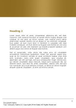 Handcart Word Template, Second Inner Page, 05628, Careers/Industry — PoweredTemplate.com