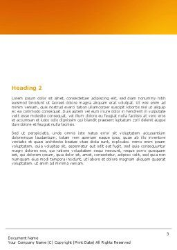 Dominoes Falling Effect Word Template, Second Inner Page, 05638, Consulting — PoweredTemplate.com