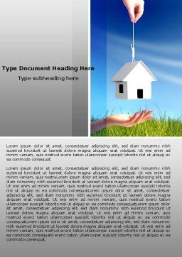 Mortgage Word Template Cover Page