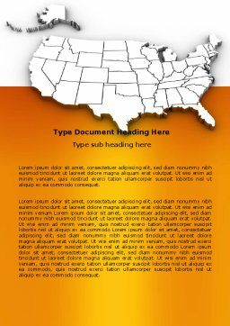 American States Word Template Cover Page