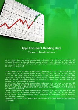 Rate Rise Word Template, Cover Page, 05689, Consulting — PoweredTemplate.com