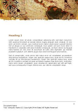 Age of Exploration Word Template, Second Inner Page, 05714, Global — PoweredTemplate.com