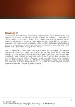 Harmony Word Template, Second Inner Page, 05723, Business Concepts — PoweredTemplate.com