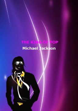 Michael Jackson Word Template Cover Page