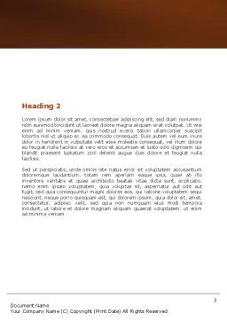 Free Spear Word Template, Second Inner Page, 05732, Education & Training — PoweredTemplate.com