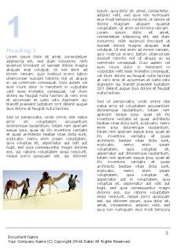 Camels Word Template, First Inner Page, 05798, Nature & Environment — PoweredTemplate.com