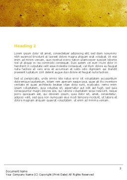 Moving Pictures Word Template, Second Inner Page, 05803, Careers/Industry — PoweredTemplate.com