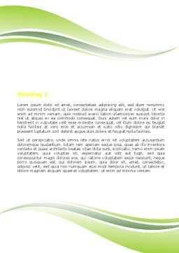 Start Education Word Template, Second Inner Page, 05823, Education & Training — PoweredTemplate.com