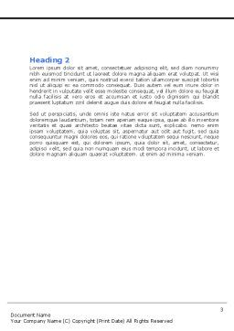 Choosing Root Word Template, Second Inner Page, 05832, Business Concepts — PoweredTemplate.com