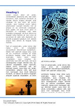 Celtic Revival Word Template, First Inner Page, 05840, Religious/Spiritual — PoweredTemplate.com