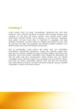 Present Past Word Template, Second Inner Page, 05847, Consulting — PoweredTemplate.com