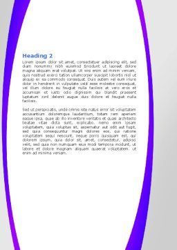 Medical Testing Equipment Word Template, Second Inner Page, 05886, Medical — PoweredTemplate.com