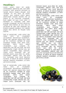 Blackcurrant Word Template, First Inner Page, 05931, Agriculture and Animals — PoweredTemplate.com