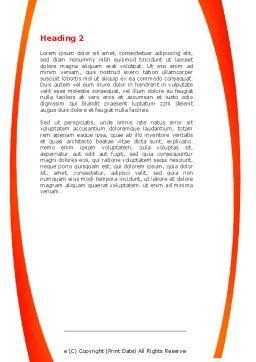 Computer Diagnostics Word Template, Second Inner Page, 05964, Medical — PoweredTemplate.com