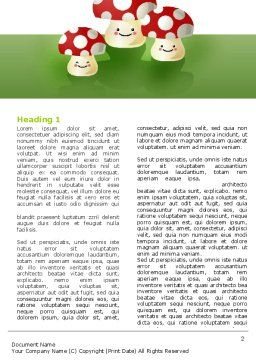 Death Cap Word Template, First Inner Page, 05965, Education & Training — PoweredTemplate.com