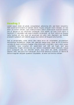 Death Cap Word Template, Second Inner Page, 05965, Education & Training — PoweredTemplate.com