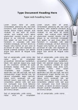 Free Fastener Word Template, First Inner Page, 06034, Business Concepts — PoweredTemplate.com