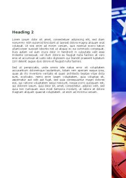 Timeless Word Template, Second Inner Page, 06050, Consulting — PoweredTemplate.com