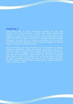 Slimming Word Template, Second Inner Page, 06061, Sports — PoweredTemplate.com