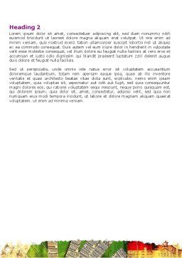 Computerized Environment Word Template, Second Inner Page, 06065, Consulting — PoweredTemplate.com