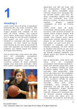 Women's Basketball in School Word Template, First Inner Page, 06084, Sports — PoweredTemplate.com