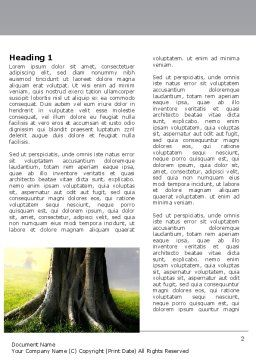 Tree Trunk Word Template, First Inner Page, 06142, Nature & Environment — PoweredTemplate.com