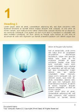 Enlightenment Word Template First Inner Page