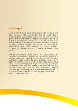 Feet Massage Word Template, Second Inner Page, 06196, Medical — PoweredTemplate.com