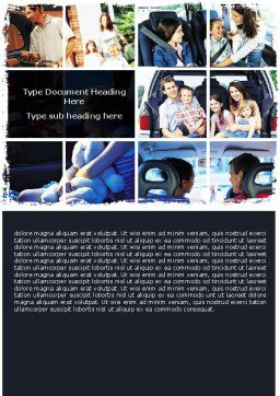 Family Travel Word Template, Cover Page, 06233, Consulting — PoweredTemplate.com