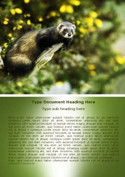 Free Polecat Word Template Cover Page