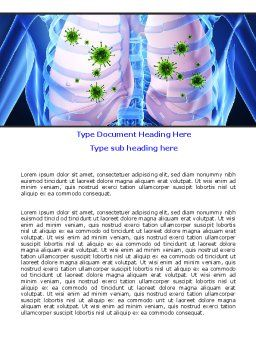 Pulmonology Word Template Cover Page