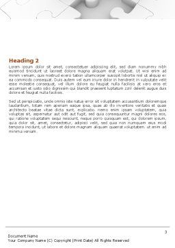 Handling Word Template, Second Inner Page, 06255, Consulting — PoweredTemplate.com