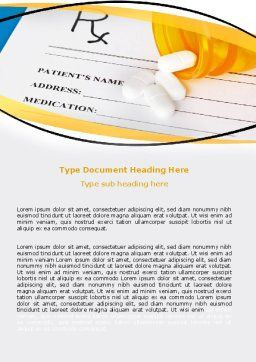Medical Records In Data Base Word Template, Cover Page, 06278, Medical — PoweredTemplate.com