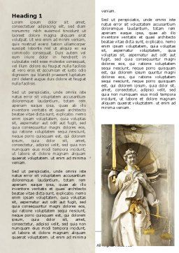 Lady Justice Word Template First Inner Page