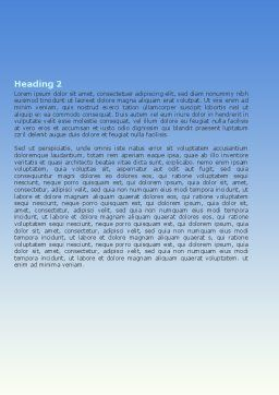 Digital Eye Word Template, Second Inner Page, 06323, Business Concepts — PoweredTemplate.com