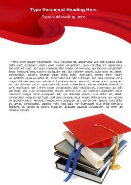 Higher Education Word Template Cover Page