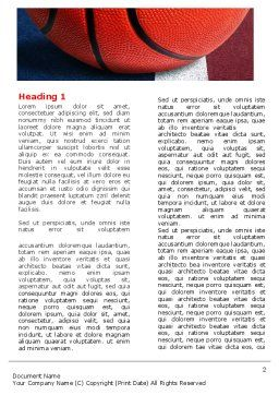 Basketball Ball Word Template, First Inner Page, 06326, Sports — PoweredTemplate.com