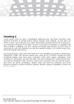 Web Server Word Template, Second Inner Page, 06329, Technology, Science & Computers — PoweredTemplate.com
