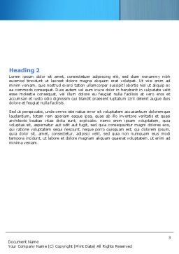 Ageing Word Template, Second Inner Page, 06349, Medical — PoweredTemplate.com