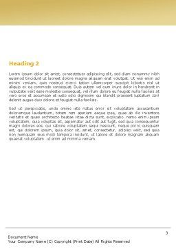Tomograph Word Template, Second Inner Page, 06350, Medical — PoweredTemplate.com