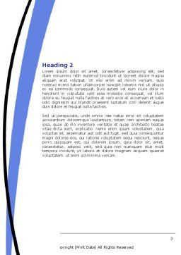 Petronas Twin Towers Word Template, Second Inner Page, 06375, Construction — PoweredTemplate.com