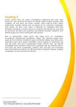 Girl Studying Word Template, Second Inner Page, 06376, Education & Training — PoweredTemplate.com